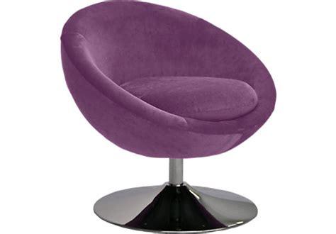 Zephyrus Purple Swivel Chair Seating Red Purple Swivel Chair