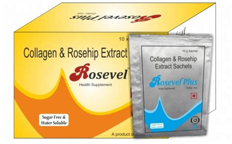 d m pharma collagen rosehip extract sachet pharmaceutical medicines manufacturing companies