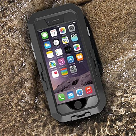 iphone  case tethys movee iphone  waterproof case black protective rugged apple iphone