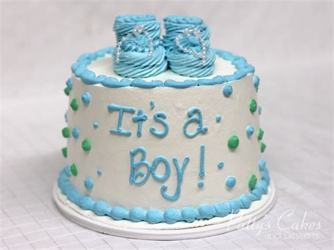 Green Baby Shower Cake by Photo Of A Babyshower Cake Blue Green Patty S
