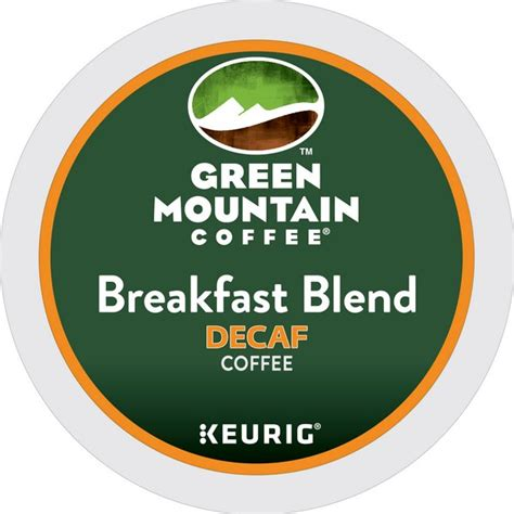 Green Mountain   Breakfast Blend Decaf K Cups   24ct