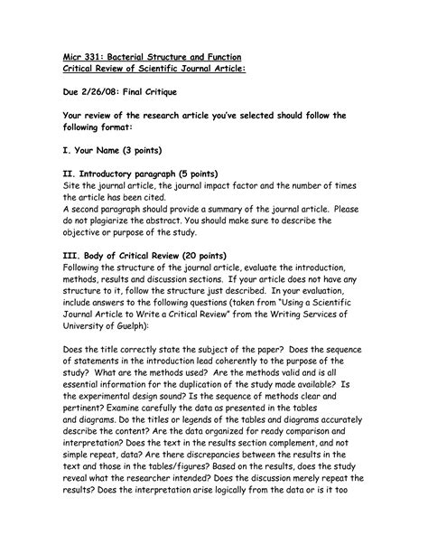 article review template writing an article review in apa format writefiction581