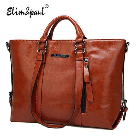 01 8 New Arrival Tas Top Handle Bag 1733 aliexpress buy elim paul leather handbags top