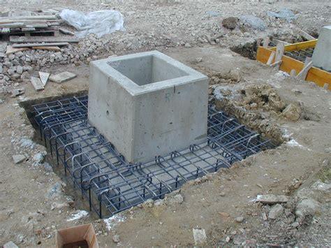 capannone prefabbricato fondazioni plinti e platee