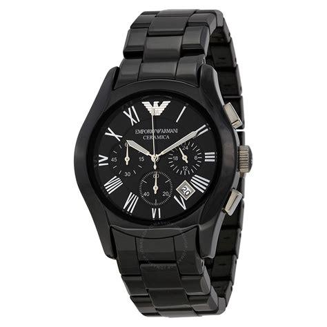 Emporio Armani emporio armani chronograph black black ceramic s