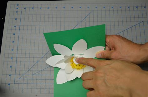 lotus flower pop up card template free s day lotus flower pop up card tutorial creative