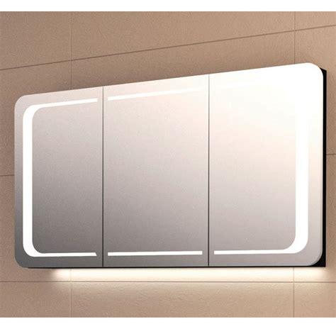 laguna wings spiegelschrank 3 t 252 ren mit led 140 cm hardys24 - Spiegelschrank Unterputz 140