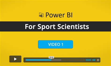 power bi for the busy professional books power bi course for sport scientists 1