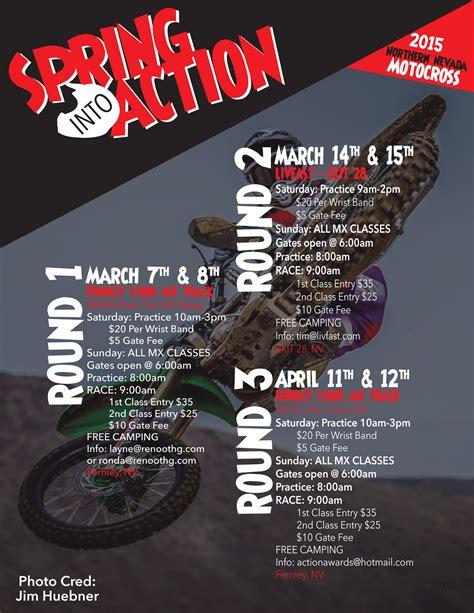 motocross racing schedule 2015 racing preview march 5 8 nv racing