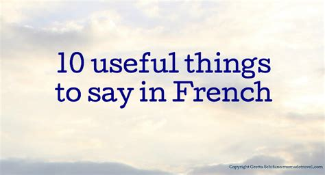 how to say house in french 10 useful things to say in french mums do travel