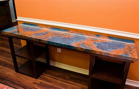 how to epoxy a table 30 best images about arizona decorative concrete
