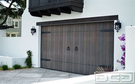 spanish style garage dynamic garage door projects