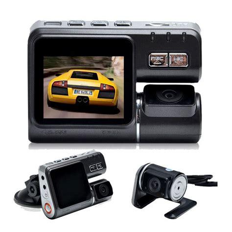 Dual Lens Vehicle Black Box Dvr 5 Megapixels Kamera Mobil xycing i1000 car dvr dual lens car black box allwinner a20 dash h 264 dual rear view