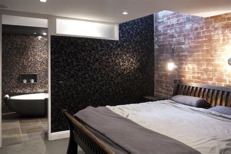 open plan bedroom ensuite ideas how to use wall dividers in your home