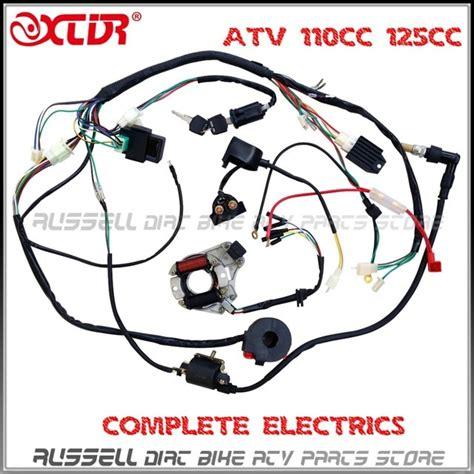 atv quad wiring harness cc cc cc cc ignition