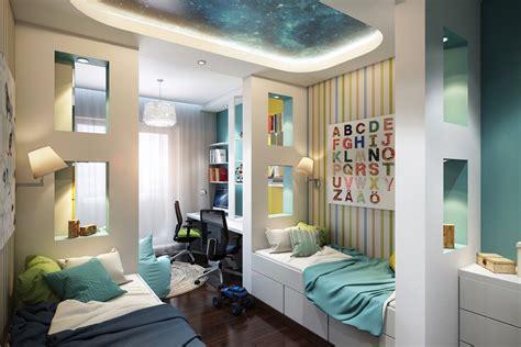 habitaciones de ninos disenos brillantes  coloridos  caprichosas caracteristicas