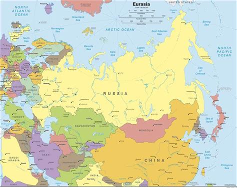 russia northern eurasia map quiz russia and its neighbors map