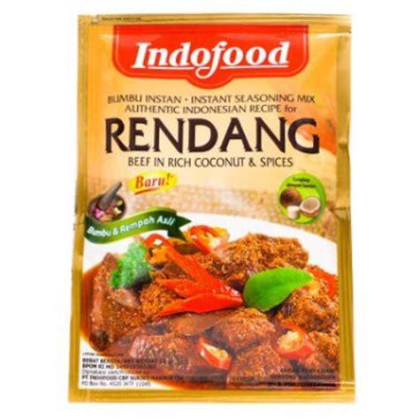 indofood bumbu special rendang  gram instant seasoning