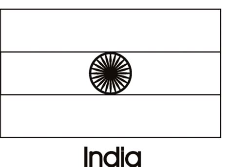 Flag Of India Coloring Page india flag coloring page supercoloring