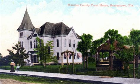 manatee county court house florida memory manatee county court house bradenton florida