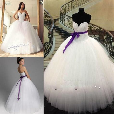 White Purple Dress white and purple corset wedding dresses www pixshark