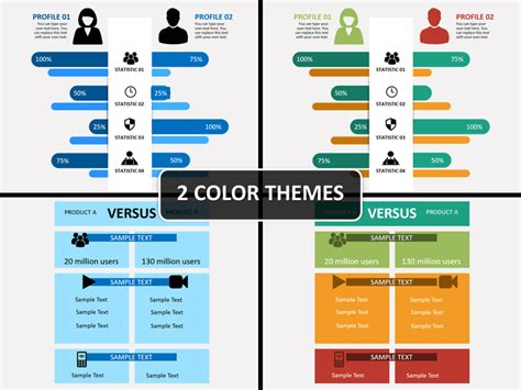 Compare Infographics Powerpoint Template Sketchbubble Comparison Template