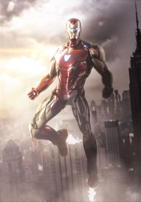 avengers endgame iron man mark mizuriofficial