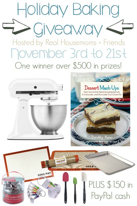 Vertical Endeavors Gift Card - 30 holiday baking recipes huge holiday baking giveaway