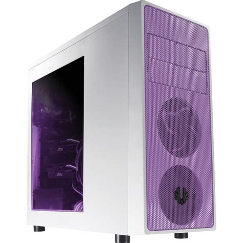 Bitfenix Neos Window Whitepurple bitfenix neos mid tower bfc neo 100 wwwkp rp b h photo