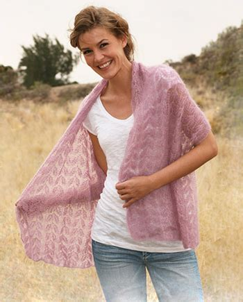 free mohair knitting patterns uk free pattern knitted shawl with lace pattern in
