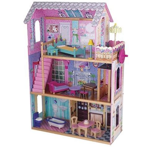 doll house with elevator kidkraft wooden emma dollhouse with furniture and working elevator b001gds8rw