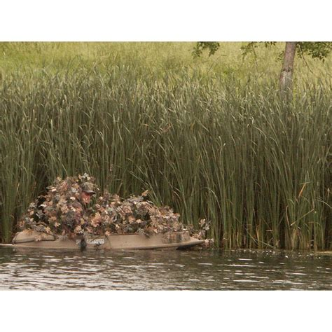 duck blind boat cover pmi cover system camouflex 174 duck blind for boats 10 12