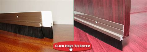 Bedroom Door Bottom Seal Interior Sliding Door Seal Abcrubber Inc