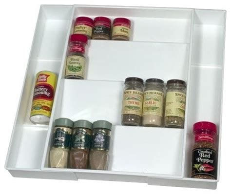 Drawer Spice Storage by Expanding Drawer Spice Organizer Spice Jars And Spice