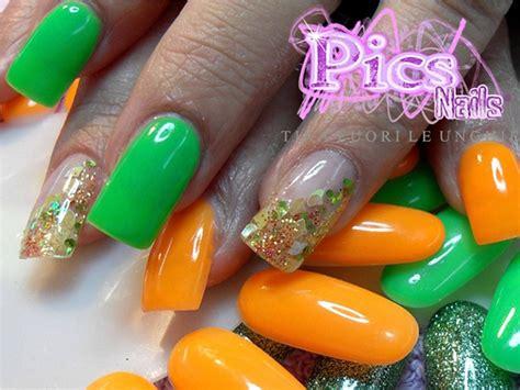 Kyt Fluo Snail unghie fluo pics nails