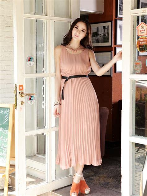 Longdress Velly Murah dress cantik lengan buntung model terbaru jual murah import kerja