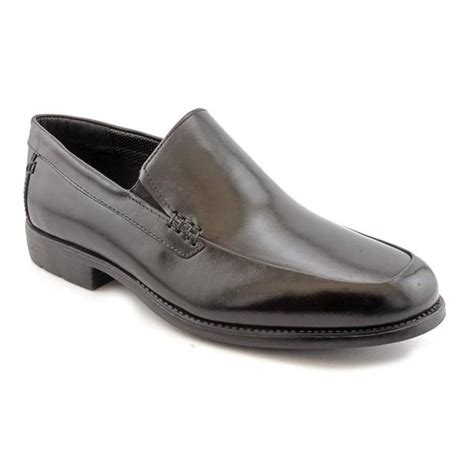hush puppies s emit leather dress shoes wide size 8 15485862 overstock