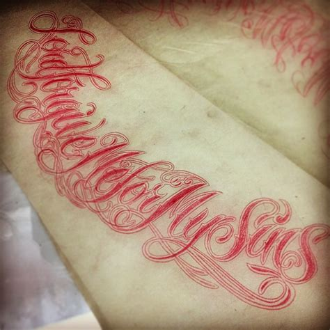 tattoo lettering san francisco san francisco bay area tattoo artist victor trujillo