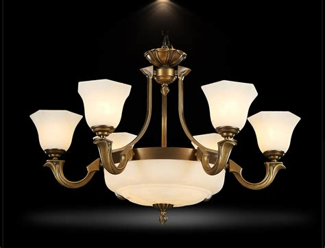 European Ceiling Lights Retro Antique Brass Chandelier Pendant Ceiling Light European Style 6 3 L E27 Ebay