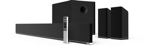 vizio s5451w c2 54 quot 5 1 sound bar system review
