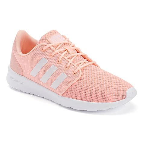 adidas neo cloudfoam qt racer s shoes size 6 5 light pink products adidas shoes
