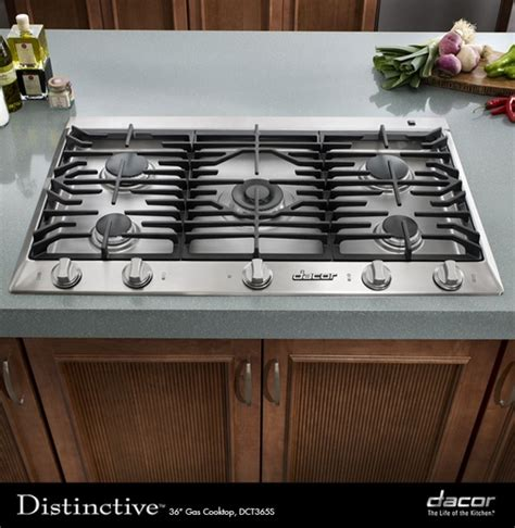 36 propane cooktop dct365slp dacor distinctive 36 quot liquid propane cooktop