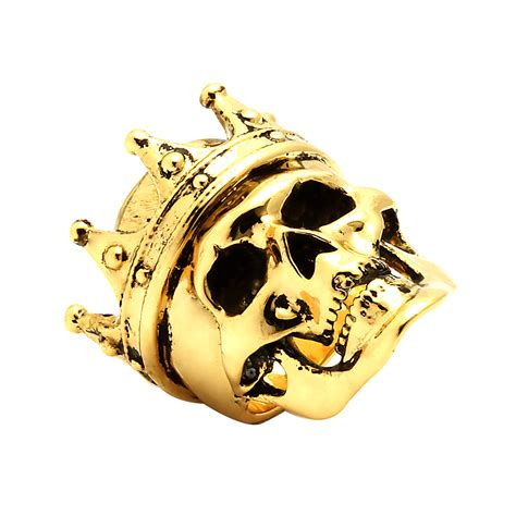 Skull Ring King king crowned skull ring size 7 king touch