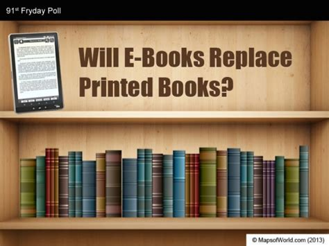 printed picture books will e books replace printed books