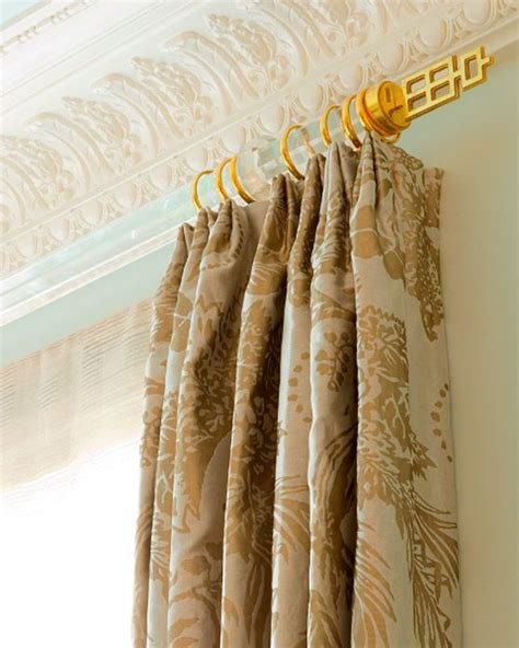 drapery diy diy acrylic drapery rods windows pinterest