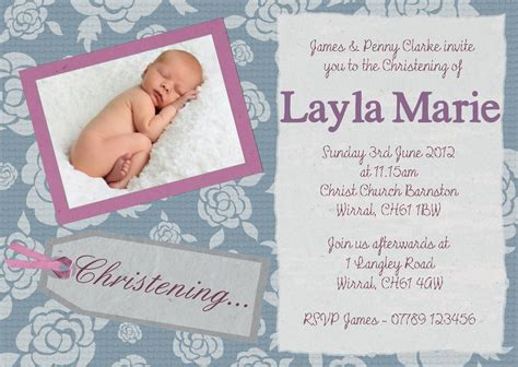 Baptism Invitation Card Baptism Invitation Cards Sle Baptism Card Template
