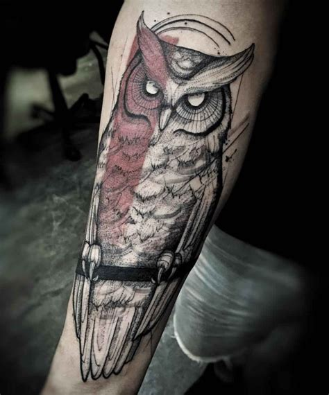 owl on forearm designs ideas and meaning tattoos