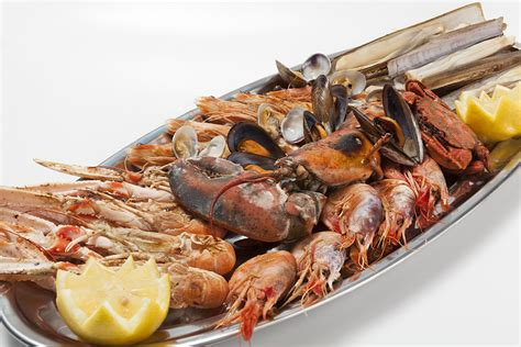 Grilled seafood platter with lobster | Restaurante Tobógan