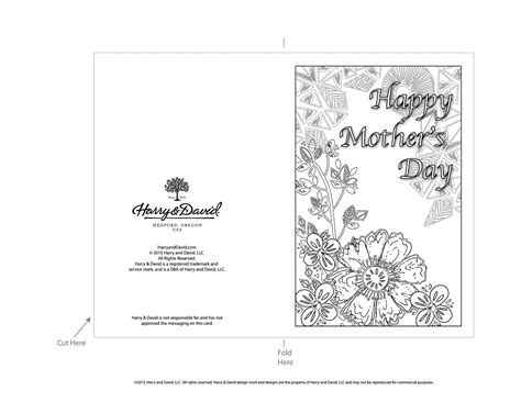 Mothersday Card Template by Printable S Day Cards