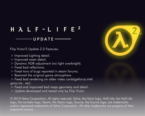 mod game update half life 2 update mod download